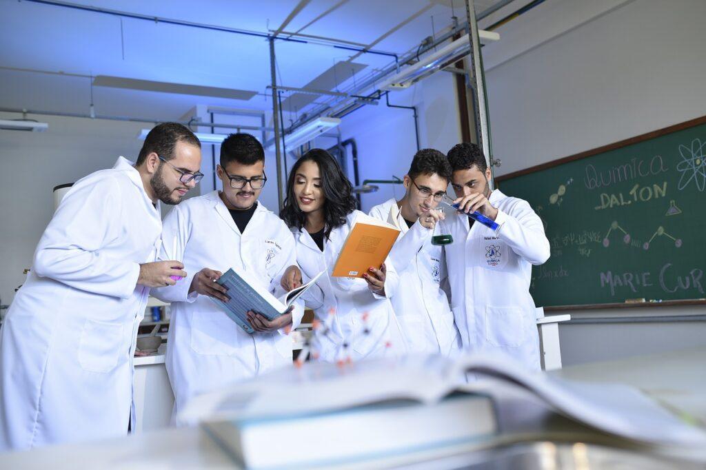 teachers, scientists, chemists